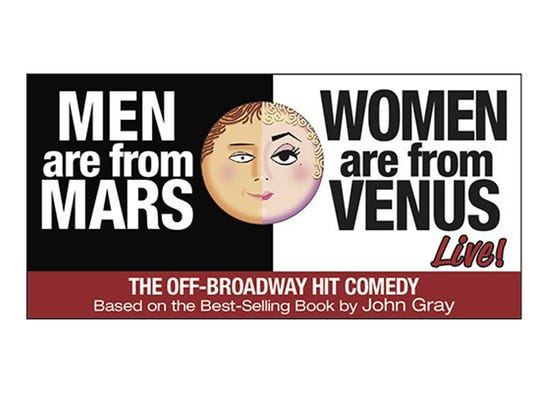 Poster of Men are from Mars, Women are from Venus Live!