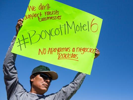 motel 6 protest
