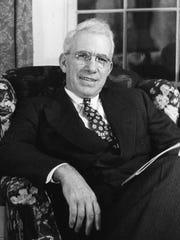 Portrait of Vermont politician George Aiken.