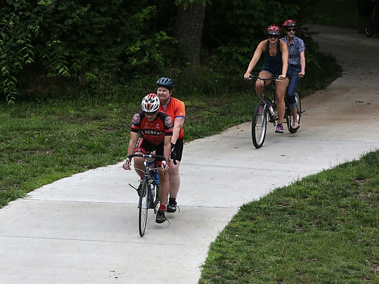 The Route 66 Tandem Cyclists provided a biking experience