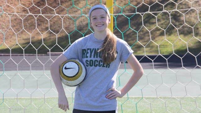 Reynolds junior Megan McCallister