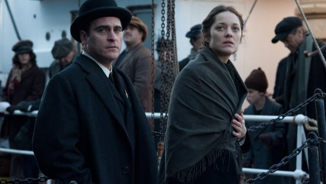 """Joaquin Phoenix and Marion Cotillard in """"The Immigrant."""""""