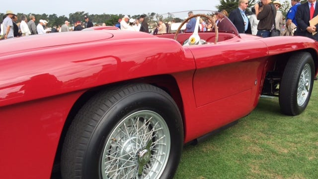 This 1952 Ferrari had a rich racing history in South America