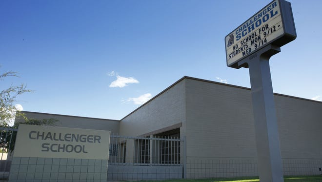Challenger Middle School will be closed for up to five weeks to repair buildings with structural deficiencies. Challenger students will take classes at an unused school in the Alhambra Elementary School District starting Friday, Sept. 16.