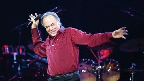 Neil Diamond's anniversary begins in Fresno in April, 2017.