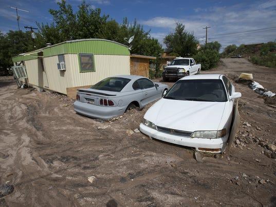 Wickenburg Tallies Damage From Weekend Flooding
