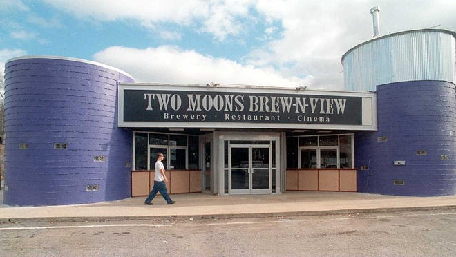 Two Moons Brew-n-View took over the old Merrimon Twin theater on Merrimon Avenue. Today, the building is Asheville Pizza and Brewing.