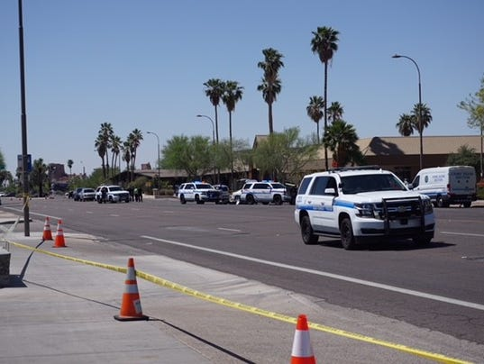 Scottsdale police ID man shot, killed by officers after bank robbery