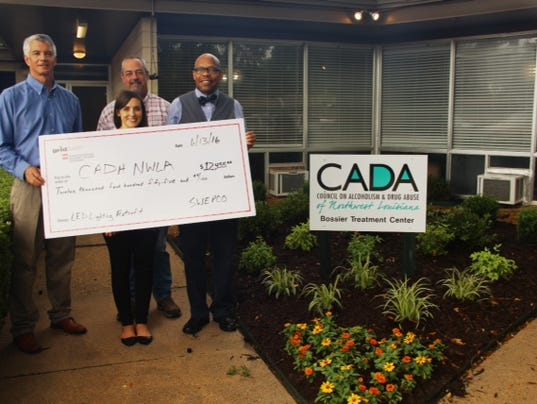Cada Bossier Treatment Center Receives 12k