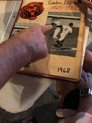 The Garden City West baseball reunion was a good excuse to take a look at a 1968 scrapbook.