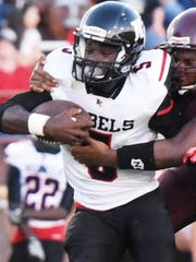 North Caddo quarterback Tymon Sanders is one of the