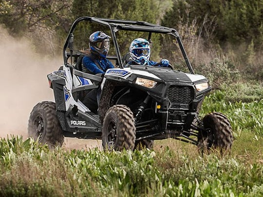 Wayne County commissioners on Wednesday decided to move forward on a possible ordinance that would allow off-road vehicles such as this one to be operated on county roads.