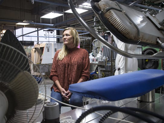 Carla Jetton owns Greenfield Cleaners at 1309 N. Greenfield