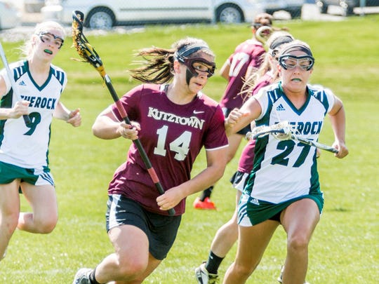 York Catholic graduate Sarah Gabriele leads the Kutztown women's lacrosse team in scoring.