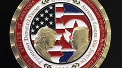 U.S. and North Korea Peace Talks commemorative 'Challenge