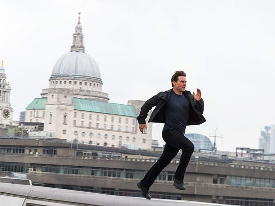 """Tom Cruise in """"Mission: Impossible - Fallout."""""""
