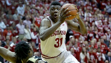 Call it a 'blarge': The weird call late in the IU-Purdue game