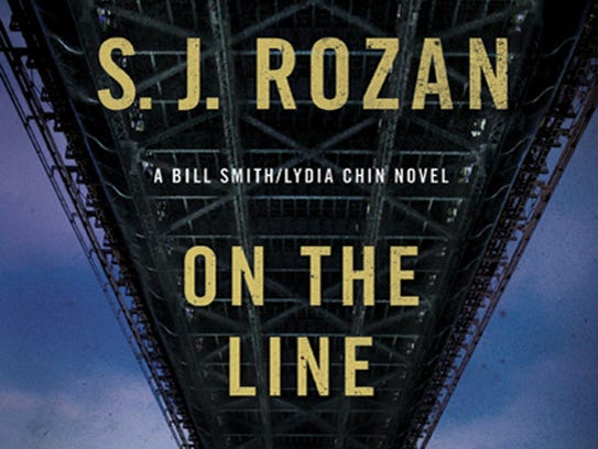 """On the Line,"" by S.J. Rozan.  is part of the Lydia"
