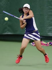 SPASH's Sabrina Tang was named the WVC tennis player