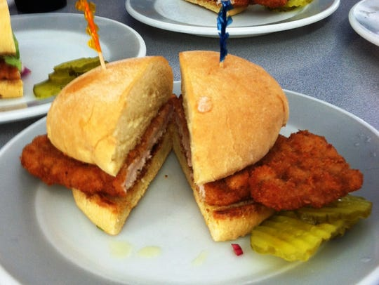 The breaded pork tenderloin at the Belmond Drive-in was named the best in Iowa by the Iowa Pork Producers Association in 2015.