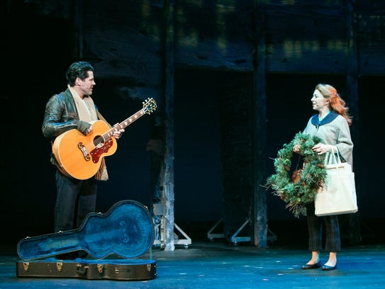 JT Hodges and Kate Morgan Chadwick in TPAC's world