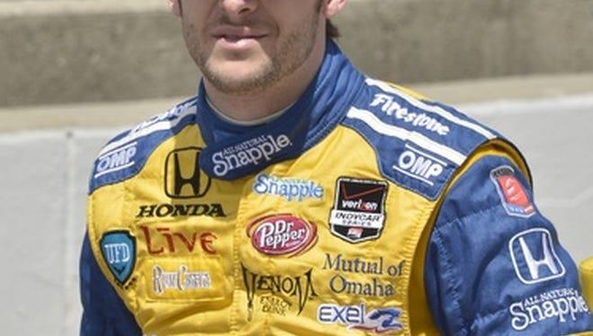 Race car legend Marco Andretti