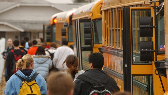 The Wichita Falls ISD school board purchased four school buses recently at a cost of $343,000.
