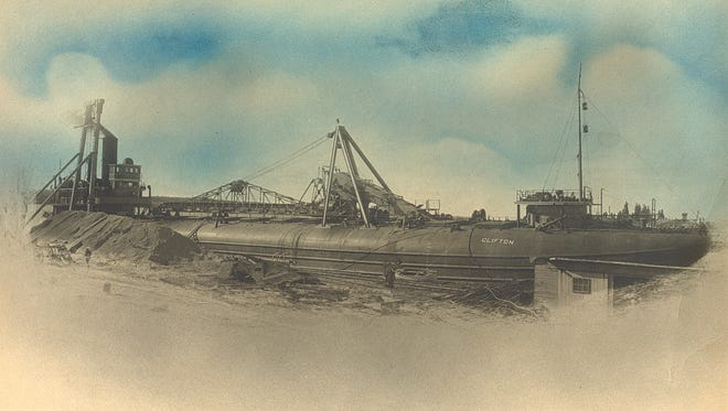 Whaleback steamers like the S.S. Clifton were uniquely designed to ply the Great Lakes.