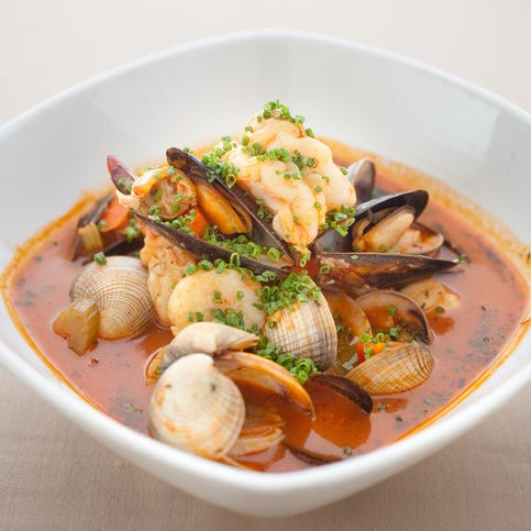7. Bouillabaisse at Razz's in Scottsdale is loaded with fish, shellfish and veggies.