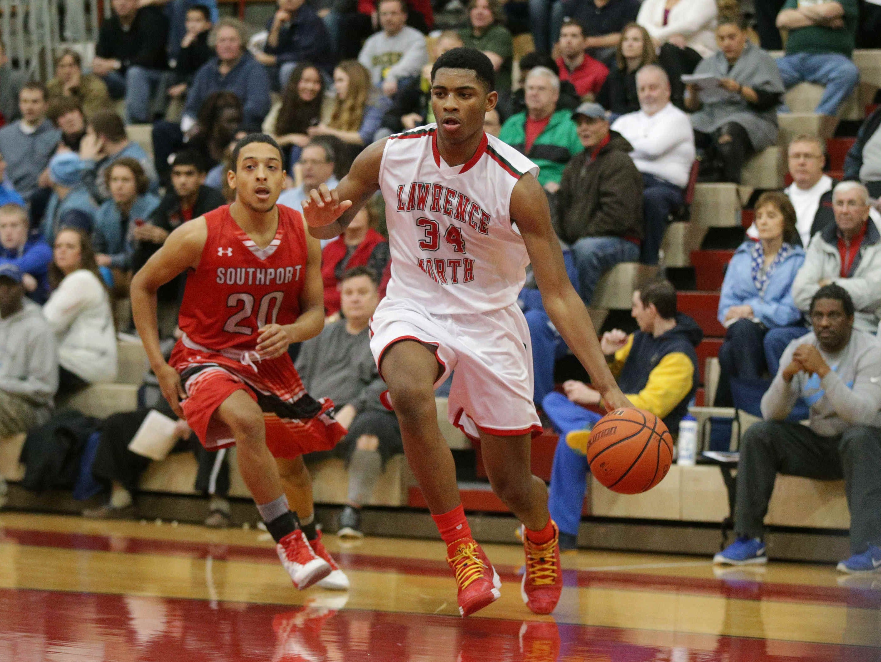 Lawrence North's Kevin Easley.