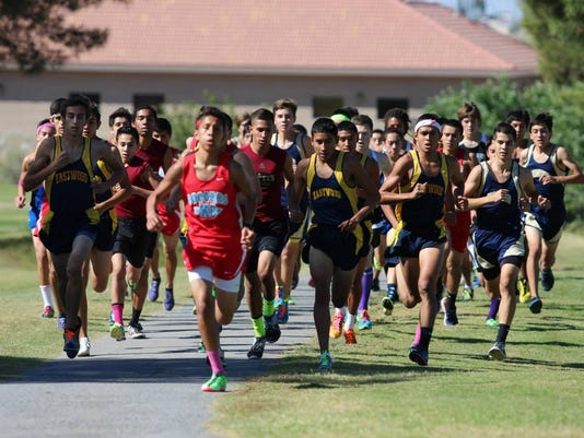 District 1-5A boys pack