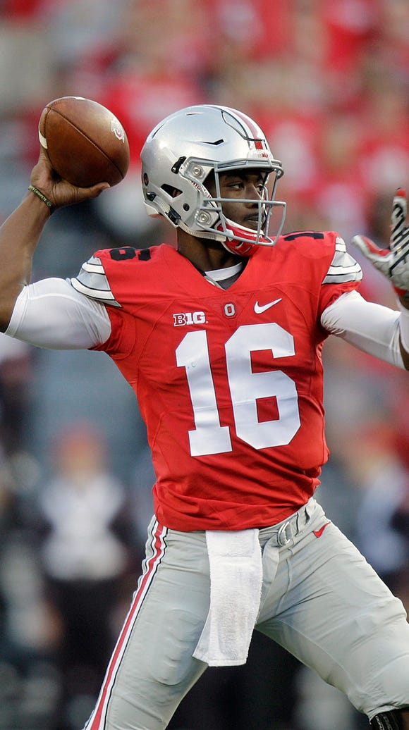 Expect J.T. Barrett to have a big week as he takes