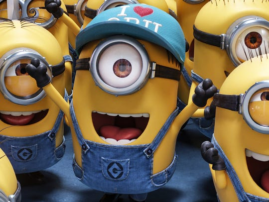 "The Minions are back in ""Despicable Me 3."""