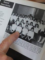 Pia Farrenkopf  was treasurer of her school's National