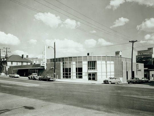 The 1960 Greyhound Bus Station in downtown Knoxville