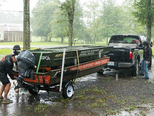 ASPCA lake charles flooding