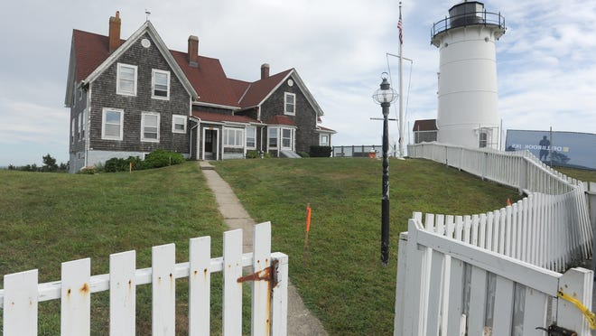 Noska Light is an iconic fixture in Falmouth.