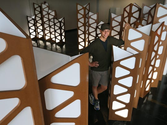 Rubber City Fab: Furniture maker inspired by industrial surroundings