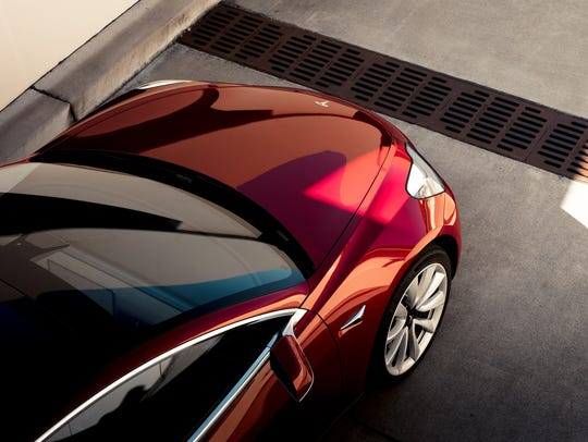 The Tesla Model 3 takes many of its stylistic cues