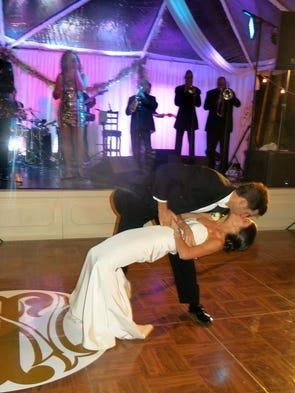 John Shaughnessy and Dr. Morgan Nelson wedding reception