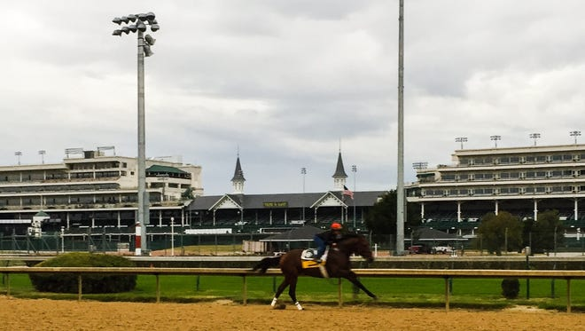 Breeders' Cup Classic contender Keen Ice works Saturday at Churchill Downs.