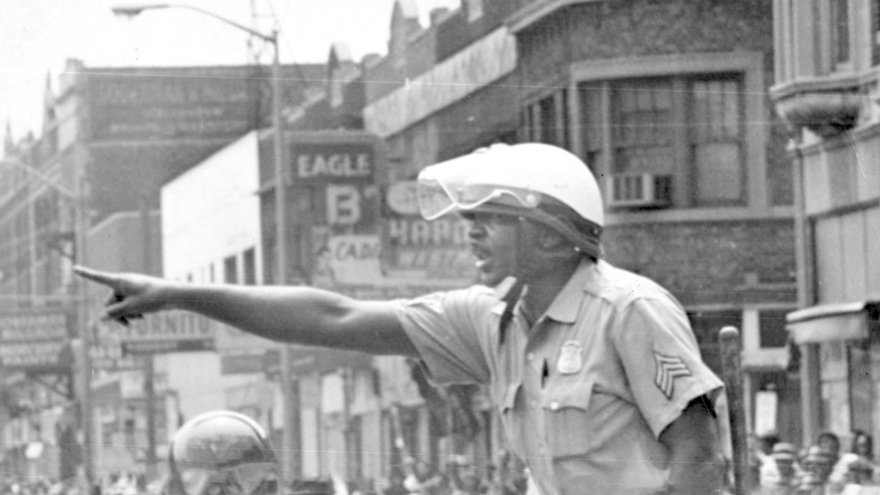 Former Detroit Tactical Mobile Unit police officer Greg Durbin remembers the gunfire and chaos he faced in the 1967 Detroit riots.