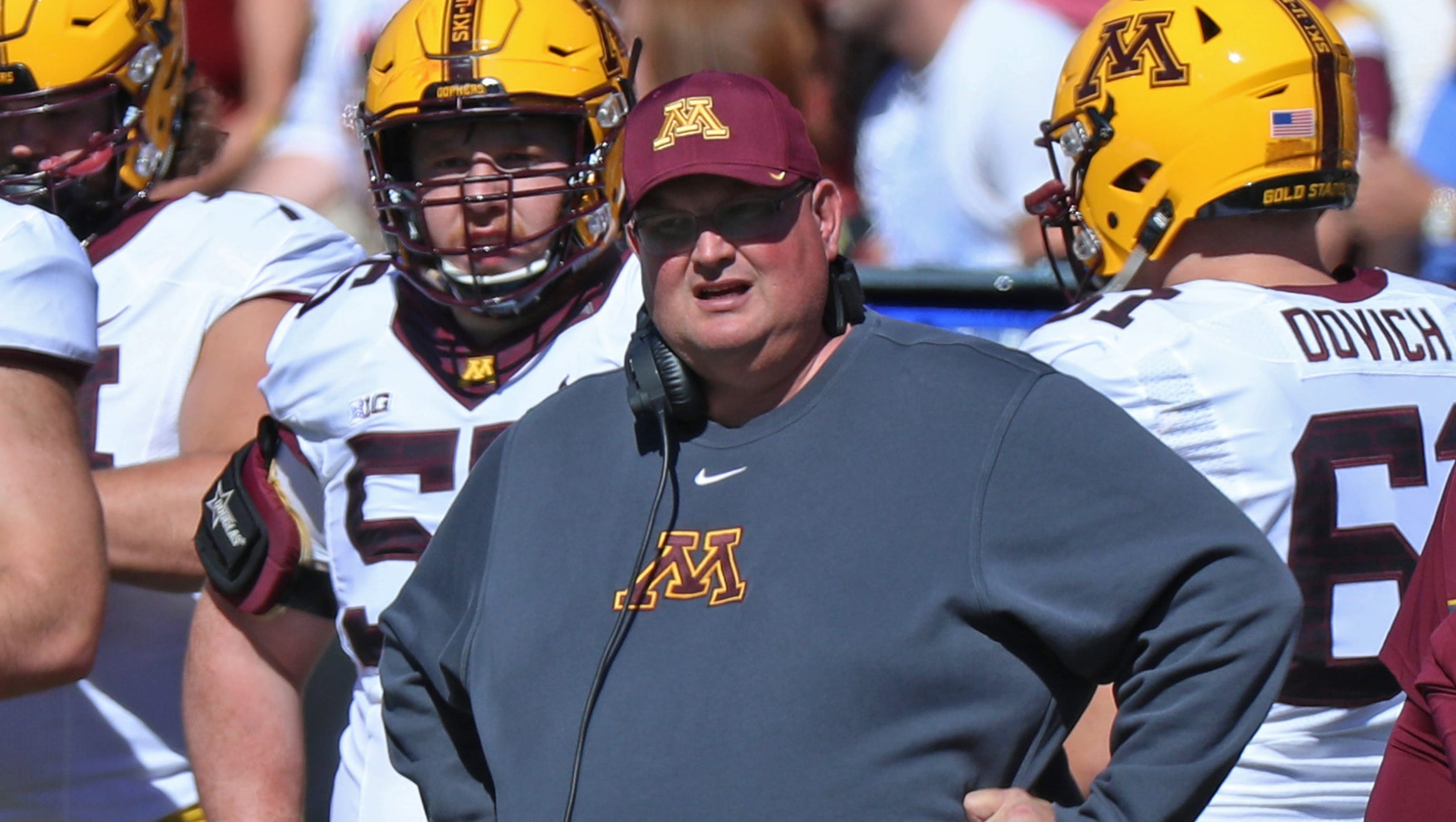 Minnesota Fires Tracy Claeys After Coach S Support Of Players Boycott