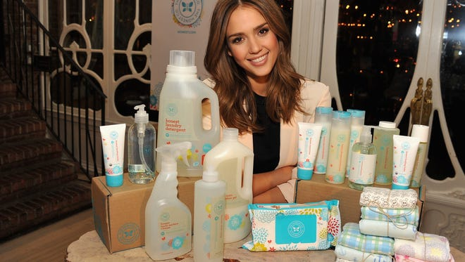 Jessica Alba attends the Jessica Alba Launches Honest.com party at ABC Kitchen on January 17, 2012 in New York City.
