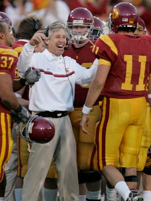 Pete Carroll won two national titles at USC.