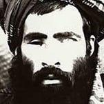 An undated image believed to be showing Afghan Taliban leader Mullah Omar.