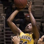Britney Wright led the Alabama State women again.