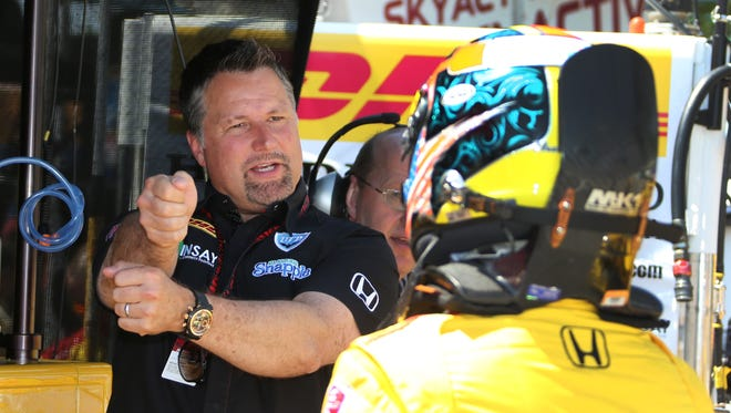 IndyCar team owner Michael Andretti is also the promoter for Sunday's race at the Milwaukee Mile.