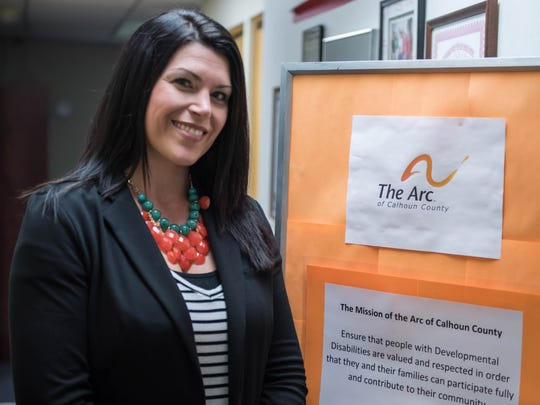 The Arc Executive Director, Leah Ortiz.