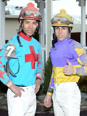 Jose and Irad Ortiz will be riding in their first Kentucky Derby on Saturday.